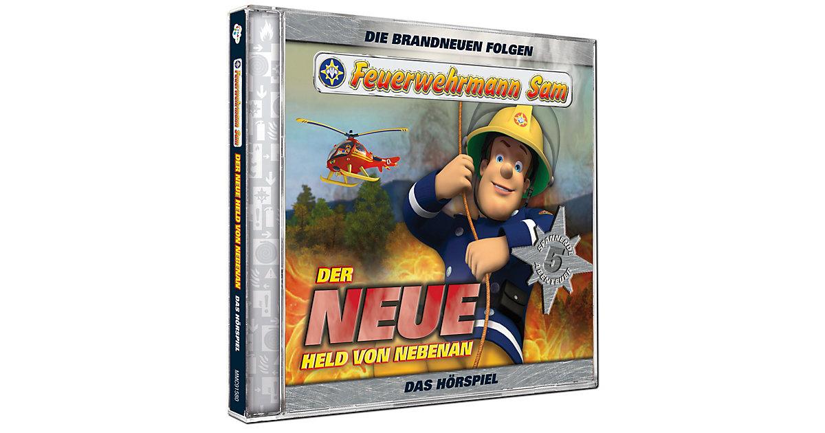 CD Feuerwehrmann Sam - Der neue Held von nebenan 1 Hörbuch