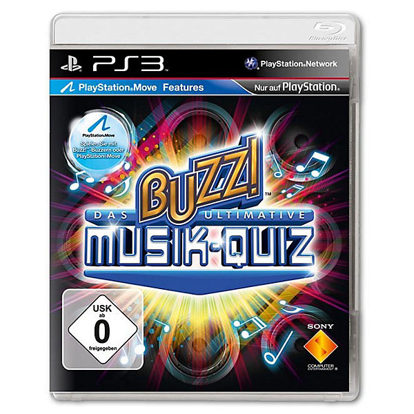 PS3 Buzz! Das ultimative Musik-Quiz Standalone