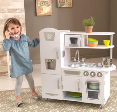 Spielküche Retro, Weiss