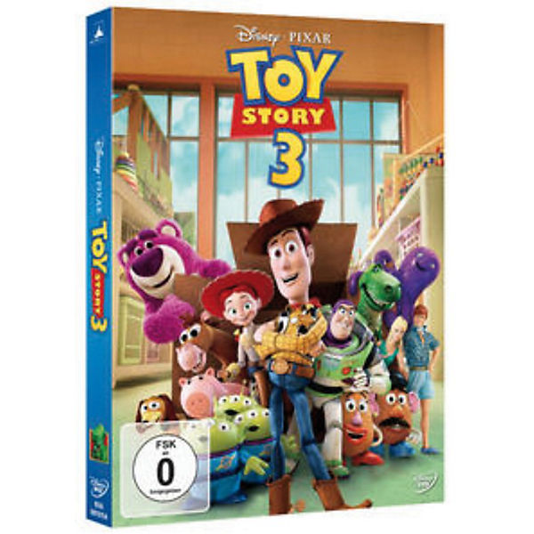 DVD Disney's - Toy Story 3