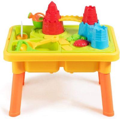Kinderspieltisch Sand- und Wasserspieltisc mehrfarbig