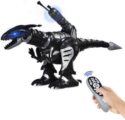 Dino Roboter RC Interaktiv Roboter schwarz