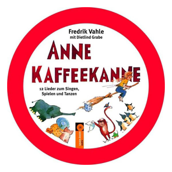CD Anne Kaffeekanne, Audio-CD