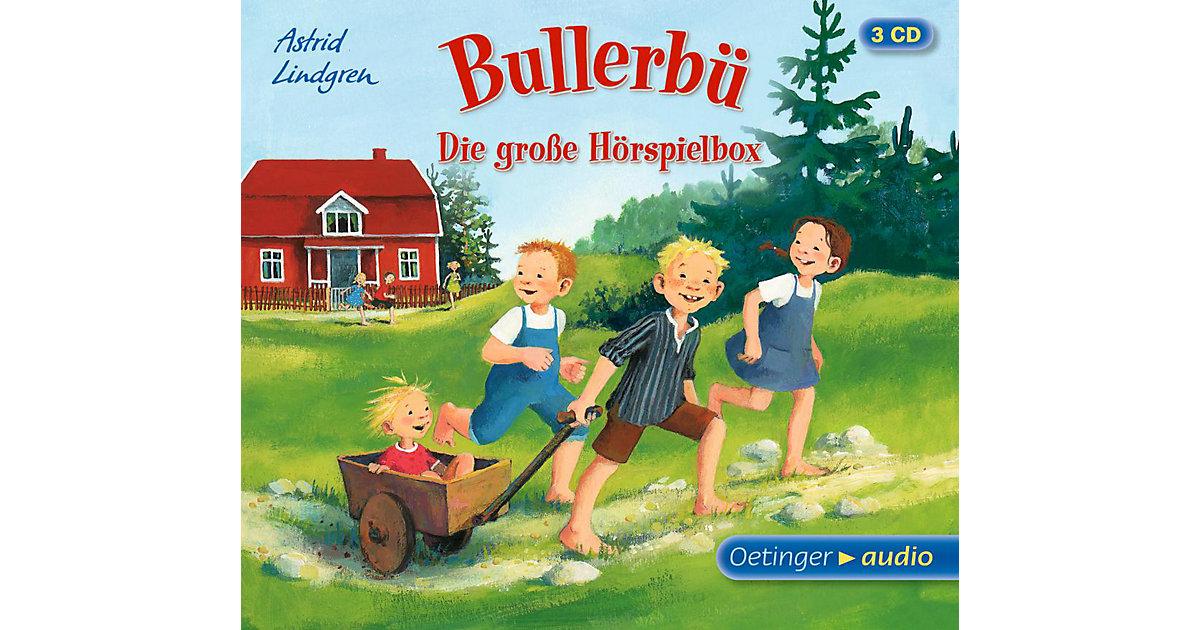 Bullerbü - Die große Hörspielbox, 3 Audio-CDs Hörbuch
