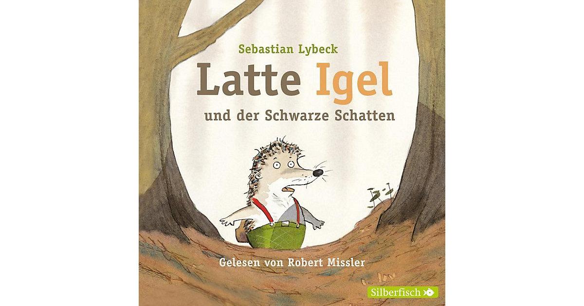 Latte Igel und der schwarze Schatten, 2 Audio-CDs Hörbuch
