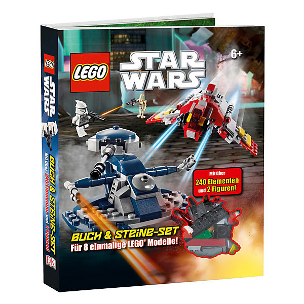 lego star wars buch mit lego steine set star wars mytoys. Black Bedroom Furniture Sets. Home Design Ideas