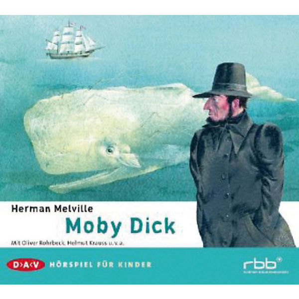 Moby Dick, 2 Audio-CDs