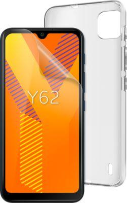 Wiko Y62 Smartphone (15,49 cm(6,1 Zoll), 16 GB, 1 GB RAM, Android 11) Dark blue dunkelblau