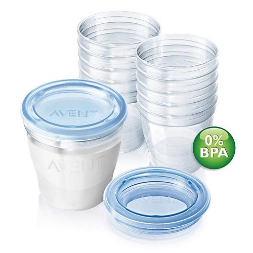 Набор контейнеров для хранения грудного молока Philips Avent 10 шт от PHILIPS AVENT