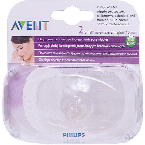 Накладки на сосок Philips Avent, размер S, 2 шт от PHILIPS AVENT