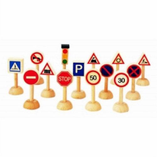 PLAN TOYS 6203 Набор дорожных знаков от Plan Toys