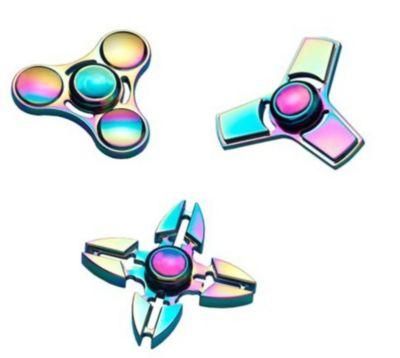 Fidget Spinner Metall, 3er Set