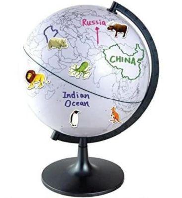 Globen Lernglobus mit Stiften und Stickern