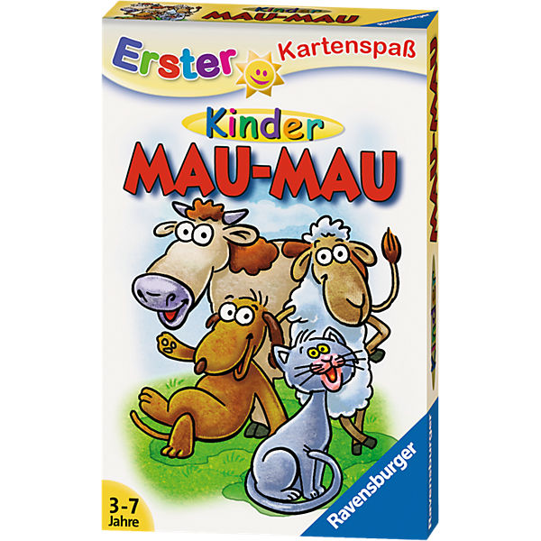 Erster Kartenspaß: Kinder Mau-Mau, Ravensburger