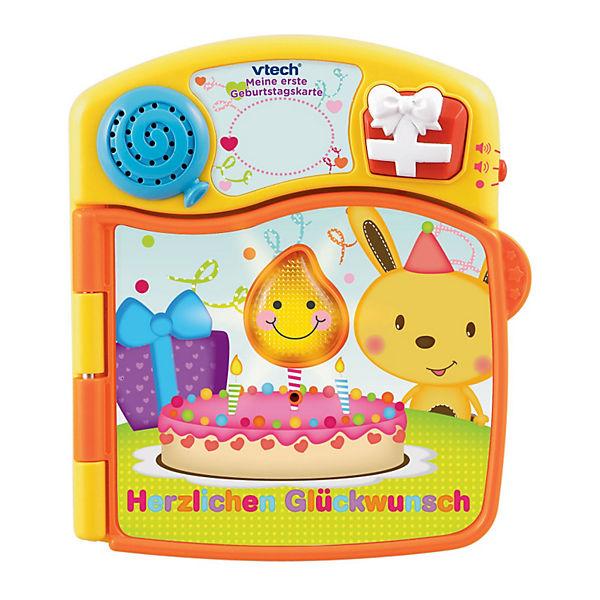 Meine Erste Geburtstagskarte Vtech Baby Mytoys