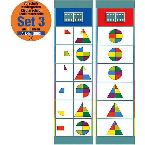 Flocards Set 3: Vorschule ab 5 Jahre, Magnetspiele