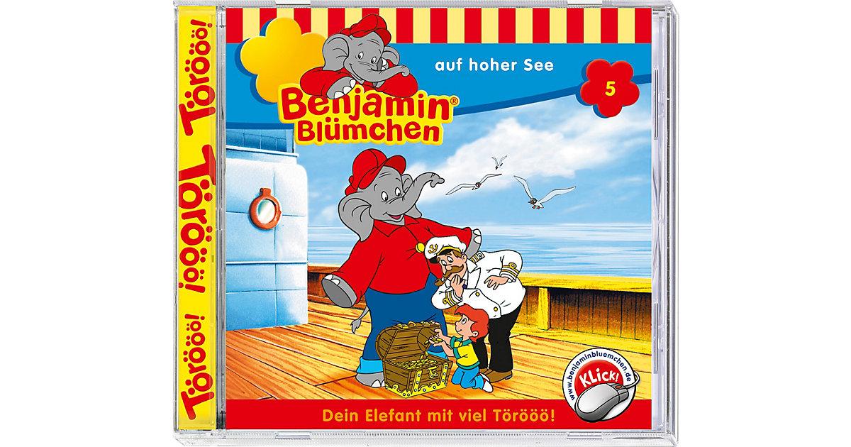 CD Benjamin Blümchen 05 - auf hoher See Hörbuch