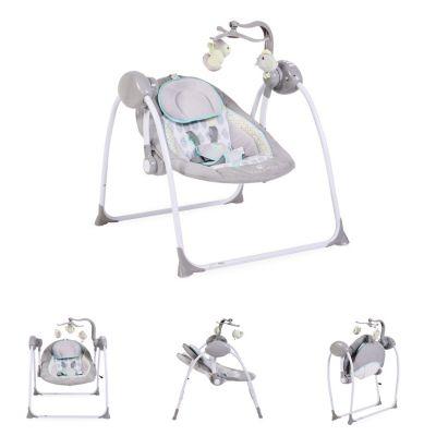 Babywippe Swing+ Babywippen grau