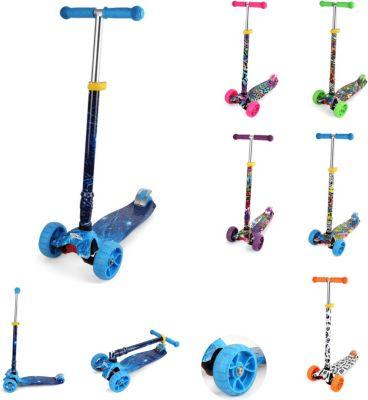 Scooter Croxy Evo Roller blau