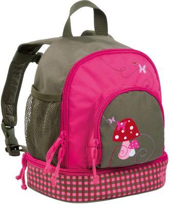 Lässig 4kids Mini Backpack Mushroom Kinderrucksack Rucksack Pink Rosa Magenta Taschen Kleidung & Accessoires