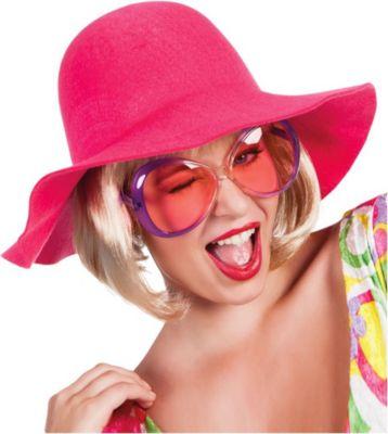 Schlapphut pink Kostümzubehör