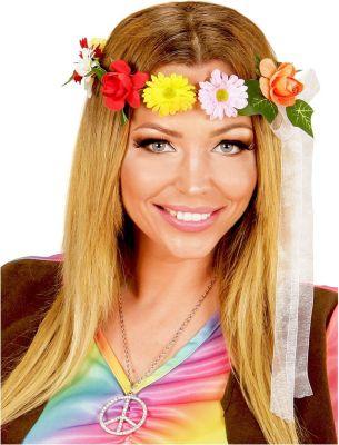 Hippie Haarreif Kostümzubehör