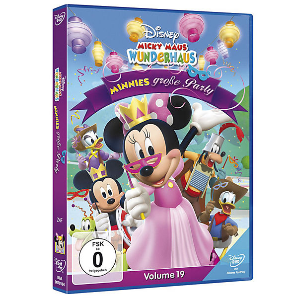 DVD Micky Maus Wunderhaus Minnies große Party Disney Minnie