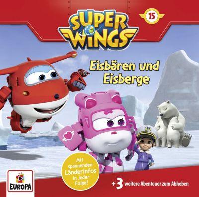 CD Super Wings F15: Eisbären und Eisberge Hörbuch