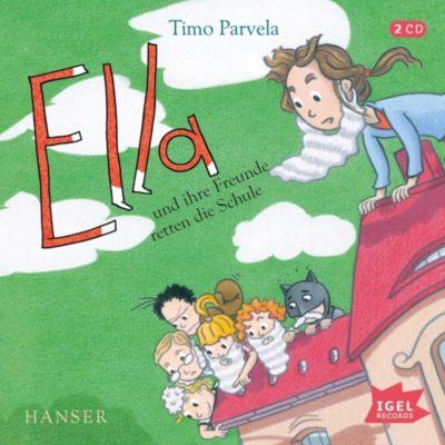 CD Ella und ihre Freunde retten die Schule Hörbuch