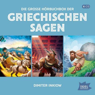 CD Die große Hörbuchbox der griechischen Sagen Hörbuch