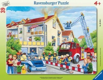 Puzzles Ravensburger Puzzle Polizeieinsatz 3 Motive à 49 Teile Spiel Deutsch 2009