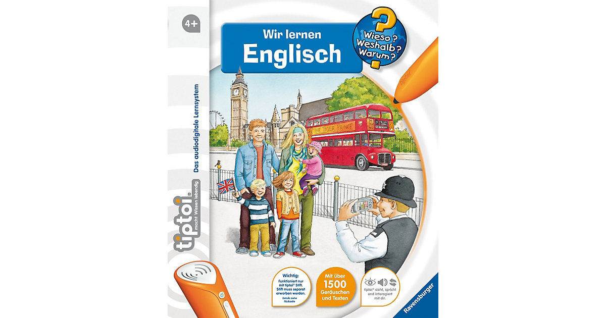tiptoi®: WWW Wir lernen Englisch