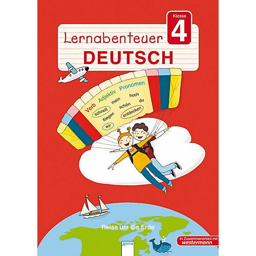 Arena Verlag Lernabenteuer Deutsch 4. Klasse - broschei