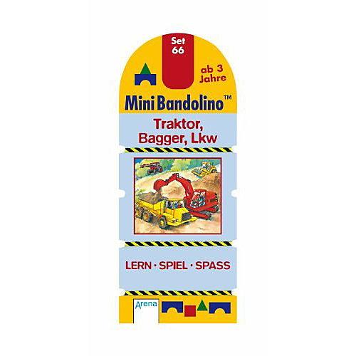 Arena Verlag MiniBandolino Set 66: Traktor, Bagger, LKW