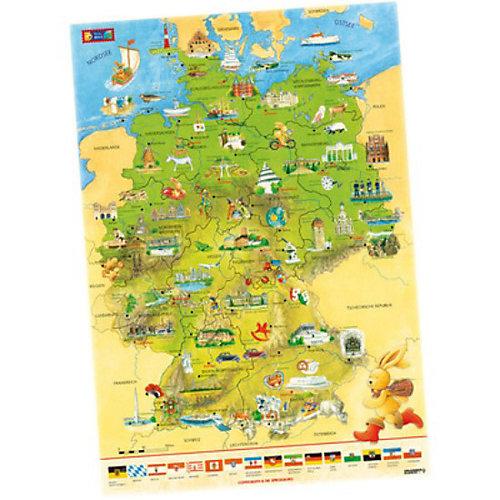 Coppenrath Felix-Deutschlandkarte - broschei