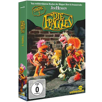 DVD Die Fraggles - Season 3