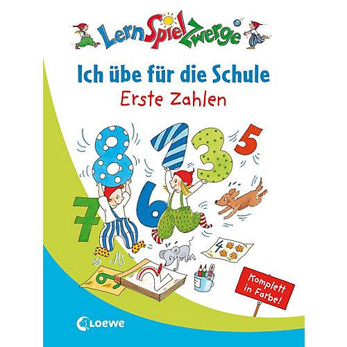 Loewe Verlag LernSpielZwerge: Ich übe die Schule - Erste Zahlen Kinder jetztbilligerkaufen