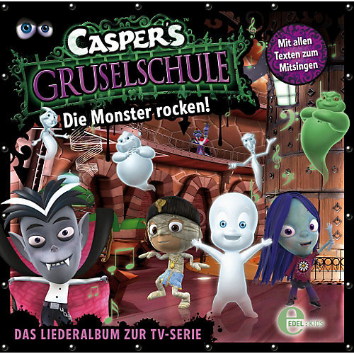 Edel CD Caspers Gruselschule - Die Monster rocken! Sale Angebote Lindenau