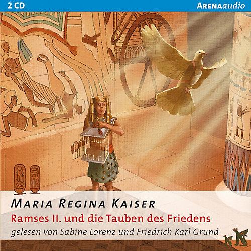 Arena Verlag Bibliothek des Wissens: Ramses II. und die Tauben Friedens, 2 Audio-CDs - broschei