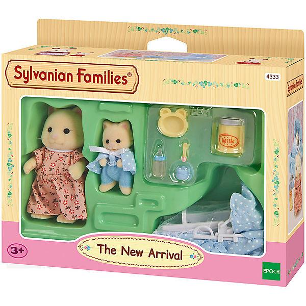 """Набор """"Мама с малышом и колыбелькой"""" Sylvanian Families"""