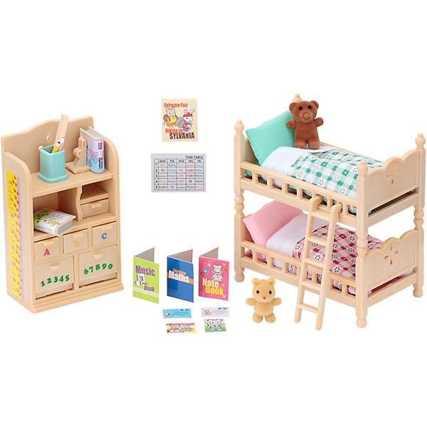 Sylvanian Families Kinderzimmer Möbel