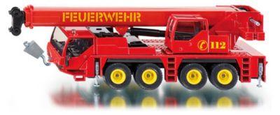 Blechspielzeug Siku Super 2110 Feuerwehrkranwagen Feuerwehr 1:55 NEU