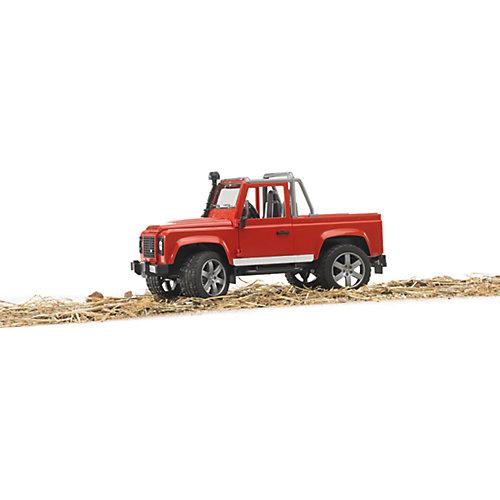 Машинка Bruder Внедорожник-пикап Land Rover Defender от Bruder