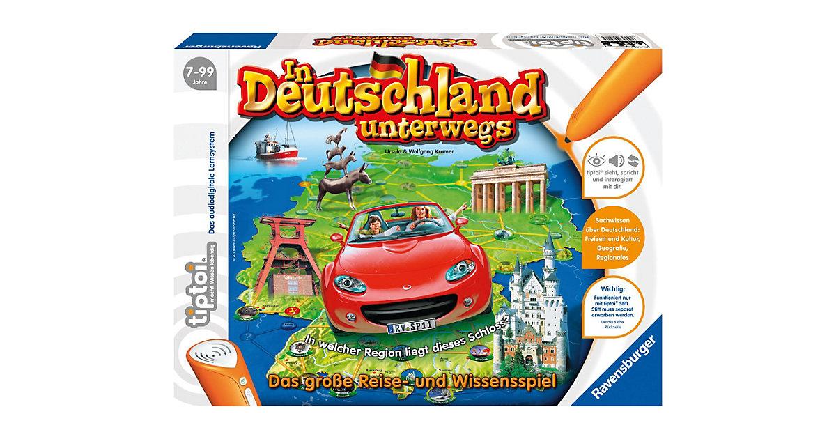 tiptoi®: In Deutschland unterwegs (Ohne Stift)
