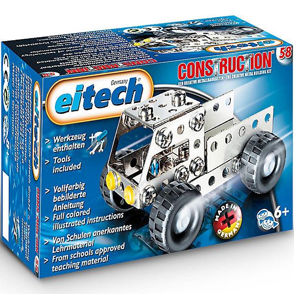 """Eitech C58 C58 C58 EINSTEIGER Metallbaukasten - """"LKW"""", eitech 0e7c63"""