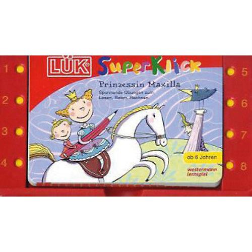 Westermann Verlag LÜK SuperKlick Set: Prinzessin Maxilla, Kontrollgerät mit Spiralbuchblock jetztbilligerkaufen