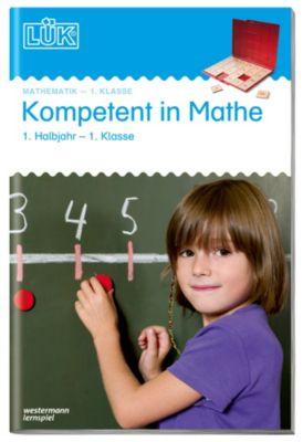 2 mini LÜK Hefte Mathekompetenz 1 Halbjahr Klasse 1