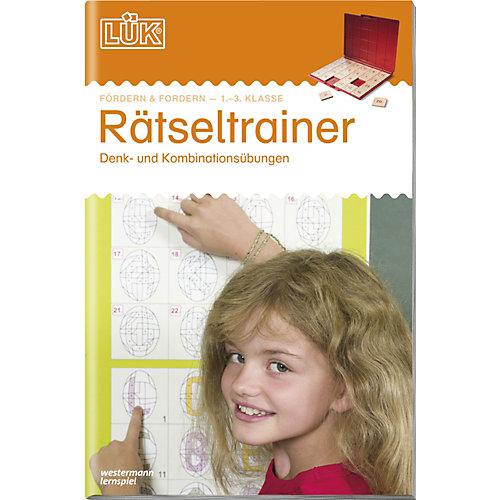 Westermann Verlag LÜK: Rätseltrainer 1. bis 3. Klasse, Übungsheft - broschei