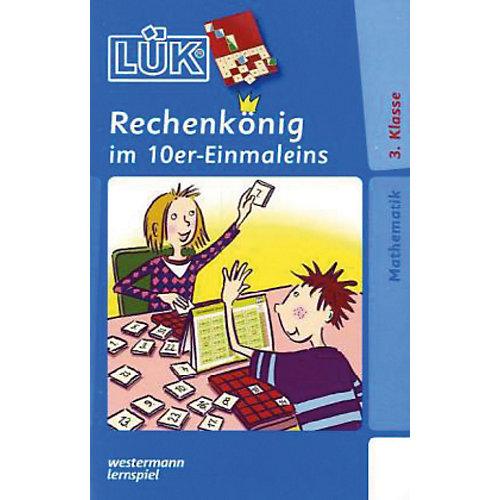 Westermann Verlag LÜK: Rechenkönig 10er Einmaleins, 3. Klasse, Übungsheft - broschei