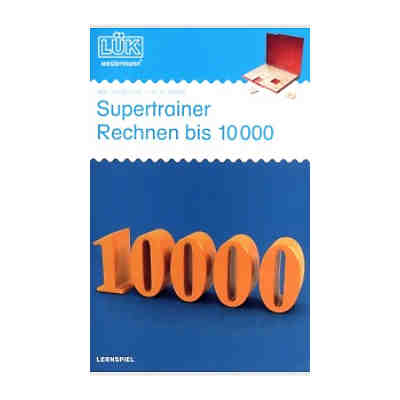 l k supertrainer rechnen bis 10000 bungsheft l k mytoys. Black Bedroom Furniture Sets. Home Design Ideas